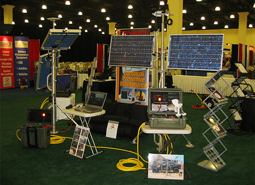 First military trade show
