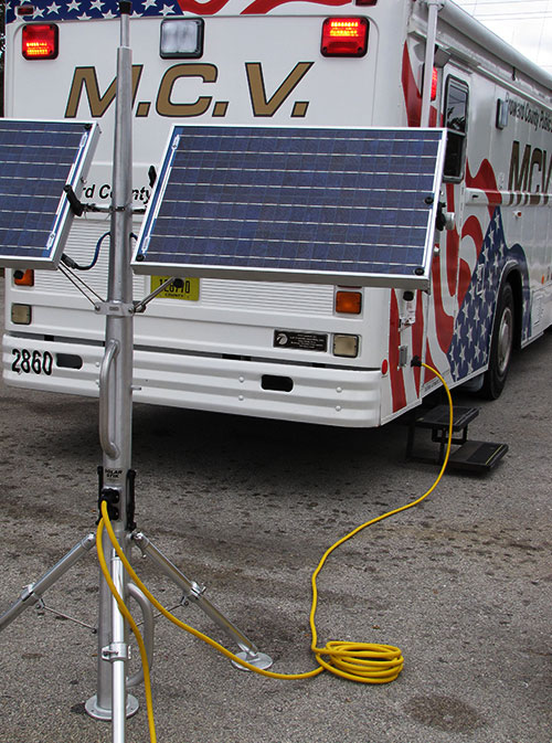 Florida county EOCs use Solar Stik products