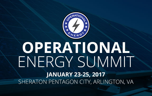 Operational Energy Summit 2017