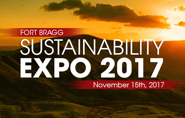 Fort Bragg Sustainability Expo 2017 Web Banner