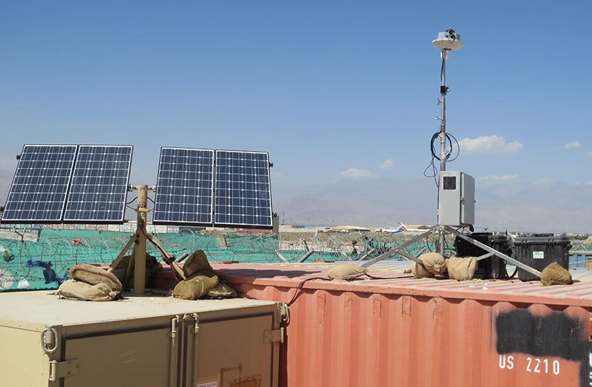 Autonomous Interrogators in Afghanistan Portable Solar Generators