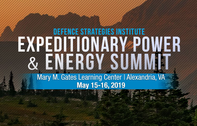 Expeditionary Power and Energy Summit | May 15-16, 2019